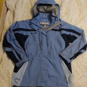 Columbia lined jacket. Size L